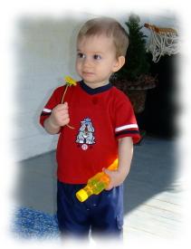 Landry at 14 months